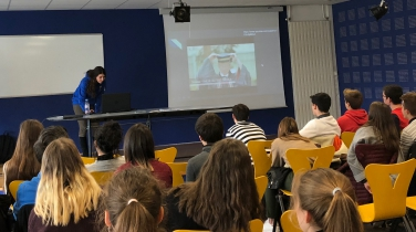 Students presented LSMU in France and Finland | LSMU